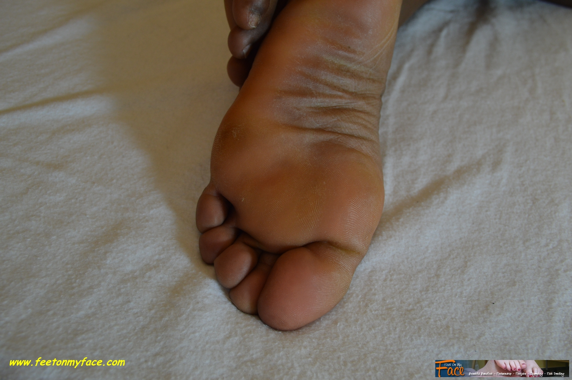 life in first Isa her underwear on footjob